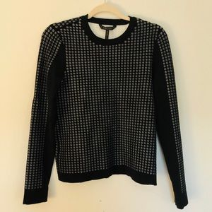Like New BCBG Maxazaria Polka Dot Sweater